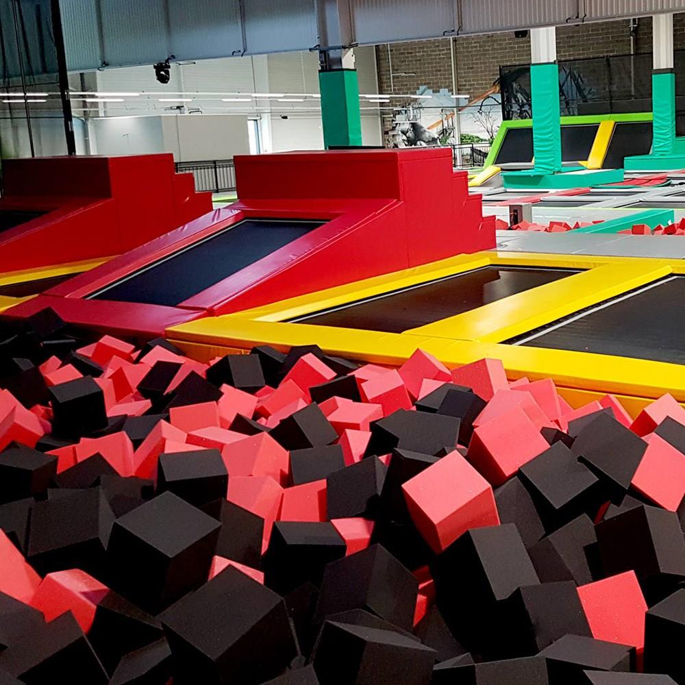 foam pit cubes for trampoline parks. Black Bedroom Furniture Sets. Home Design Ideas