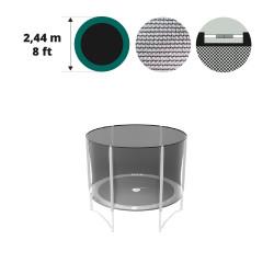 Medium textile net for 8ft/250 trampoline