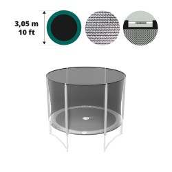 Filet textile medium pour trampoline 300