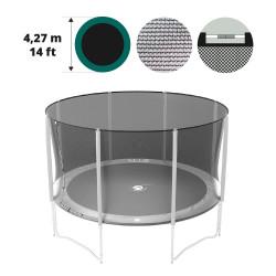Filet textile medium pour trampoline 430