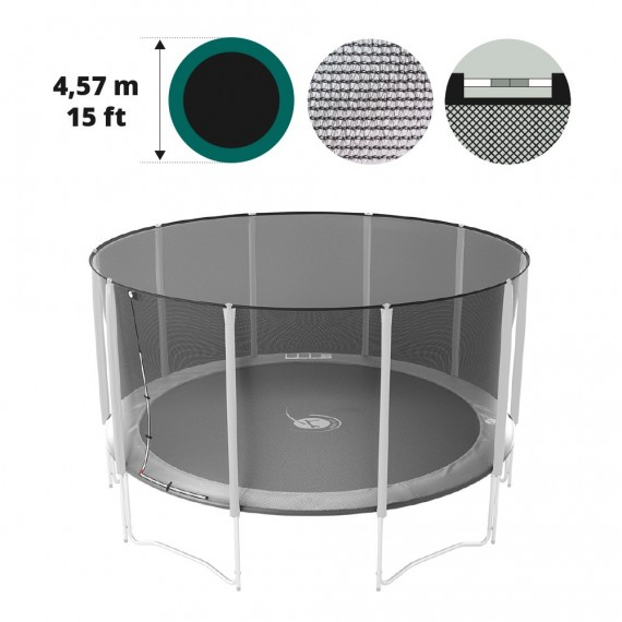 Filet textile medium pour trampoline 460