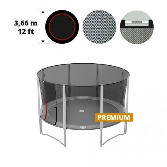 Filet Textile 360 Premium P14 - Black