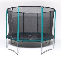 Trampoline Jump'Up 360 avec filet - Bons Plans