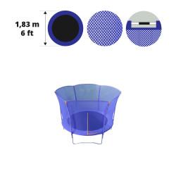 Filet textile pour trampoline Hop 180