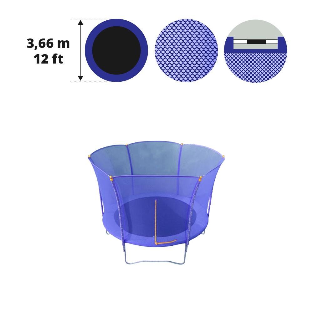 Filet de protection pour trampoline hop de diam tre 3m60 - Filet pour trampoline decathlon ...