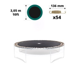 Toile de saut pour trampoline Ø305 à 54 ressorts 136 mm