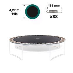 Toile de saut pour trampoline Ø427 à 88 ressorts 136 mm