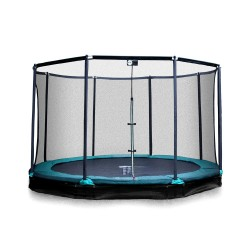 Trampoline enterré Mirage 360 avec filet