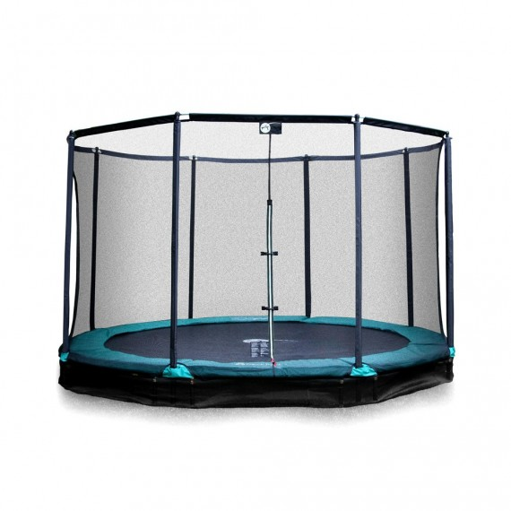 12ft Jump'In ground 360 trampoline with enclosure