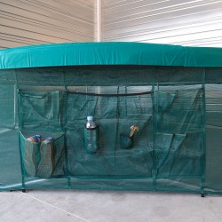 Protective skirt for Ovalie 430 trampoline