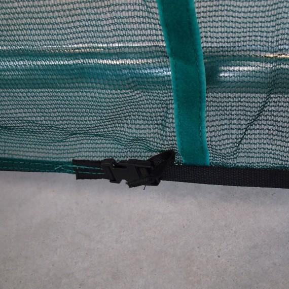 Clip de fermeture pour tendre la jupe de protection