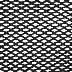 Braided white 13mm netting