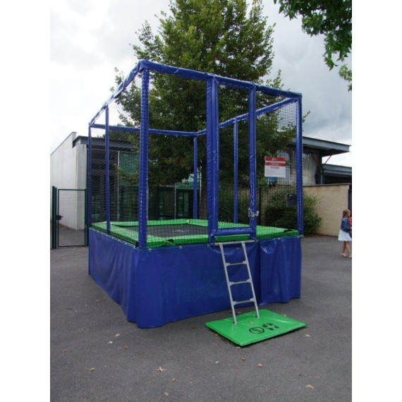 Trampoline professionnel Pro One 365 - rectangulaire