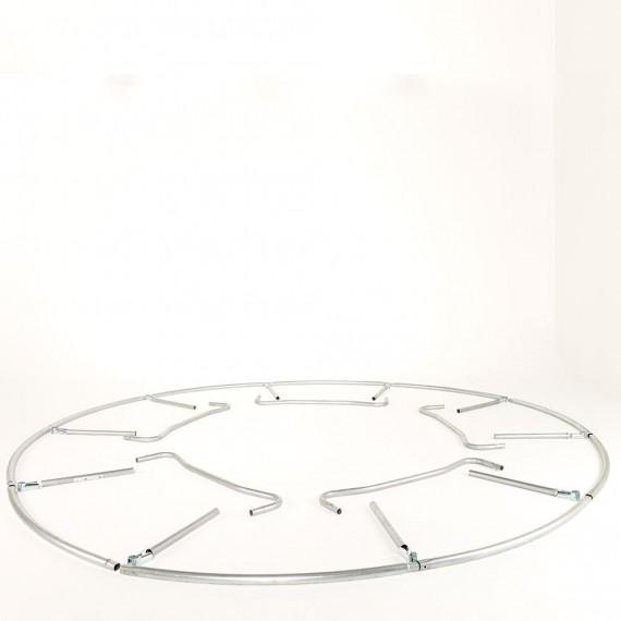Pièces de l'armature du trampoline