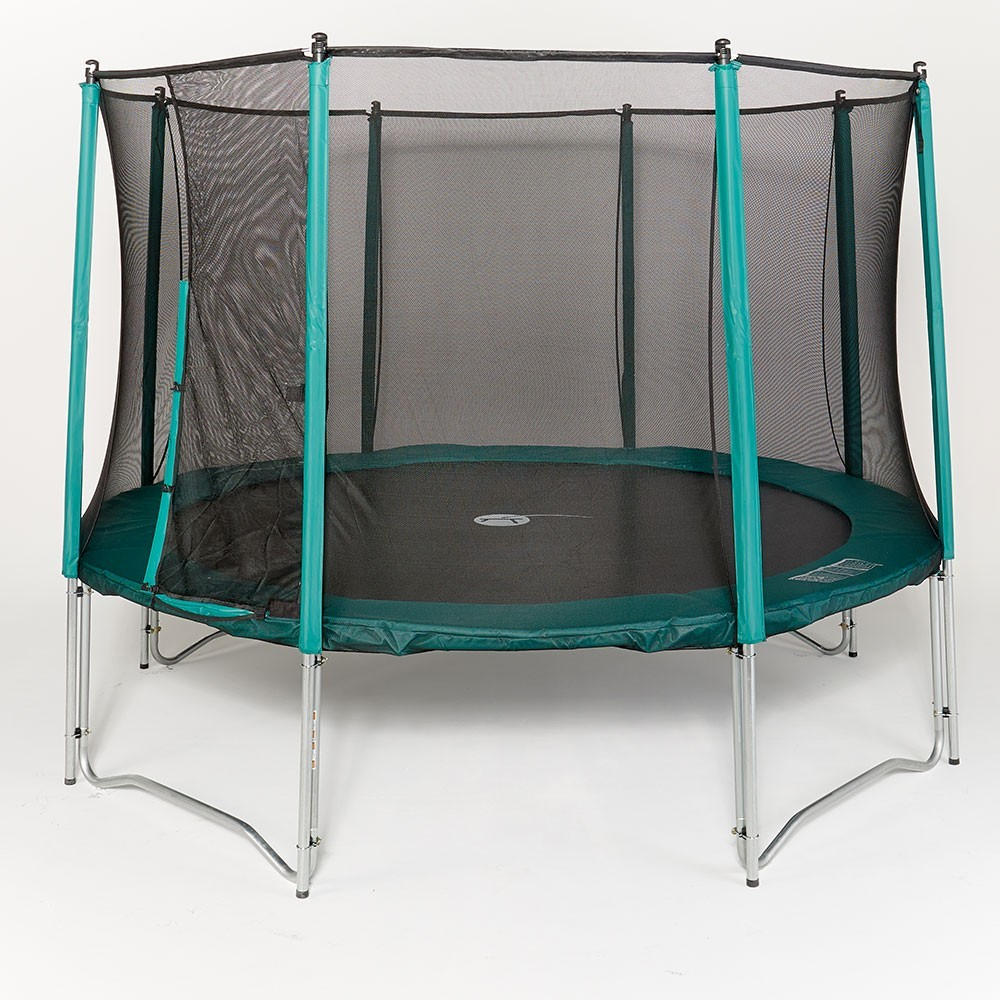 filet de protection pour trampoline rond 250. Black Bedroom Furniture Sets. Home Design Ideas