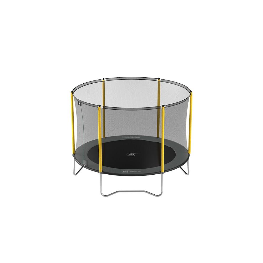 trampoline initio 250 avec filet. Black Bedroom Furniture Sets. Home Design Ideas