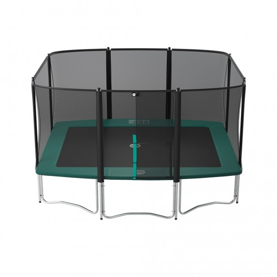 Apollo Sport 400 trampoline with safety enclosure