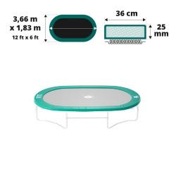 Coussin de protection Ovalie 360 25mm / 36cm