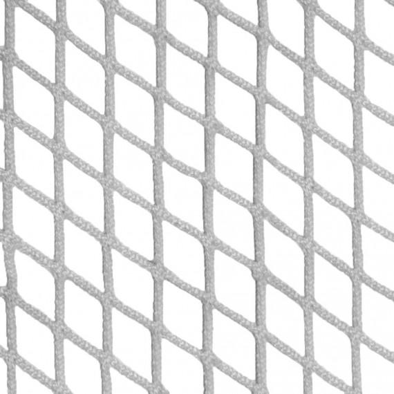 Filet d'habitation mailles tressées 30 mm blanc - Ralingue