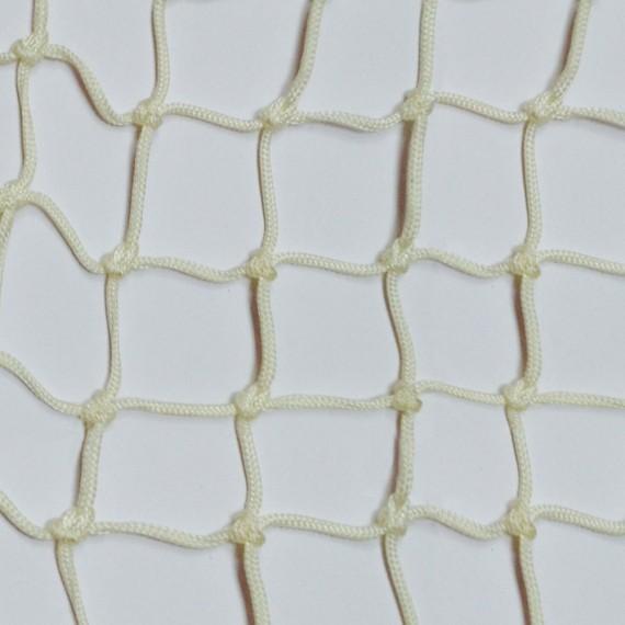 Filet d'habitation mailles nouées 50 mm blanc - Sans finition