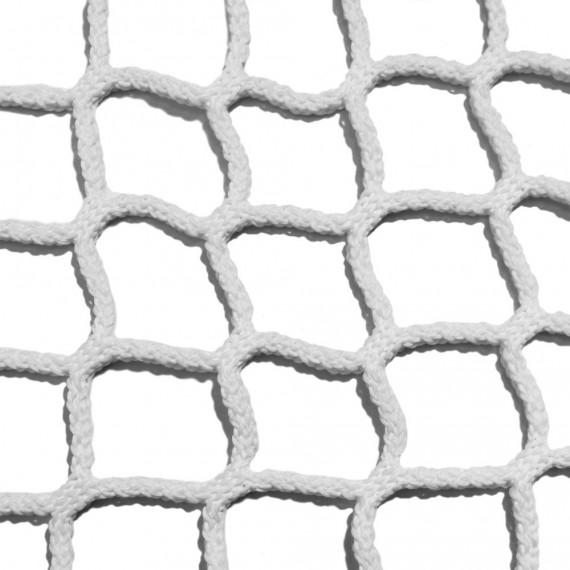 Filet d'habitation mailles tressées 50 mm blanc - Ralingue