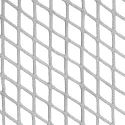 Filet d'habitation mailles tressées 30 mm blanc