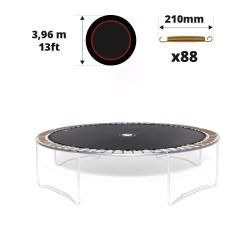 13ft trampoline jumping mat for 88 springs of 230 mm