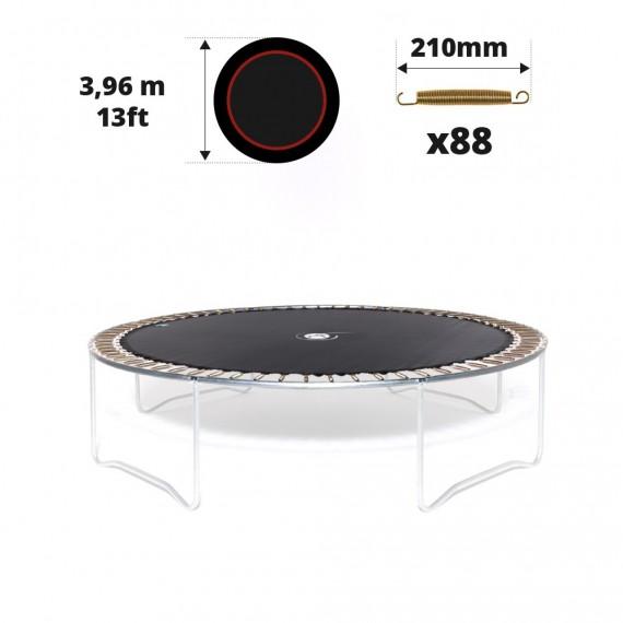 Toile de saut pour trampoline Ø 396 à 88 ressorts 210 mm