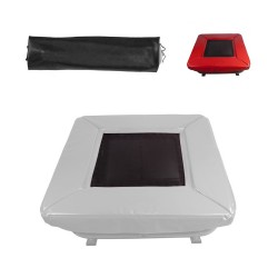 Red GymTramp Pro jumping mat