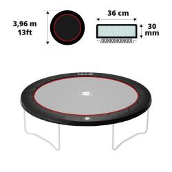 Coussin de protection noir 390 30 mm / 41 cm