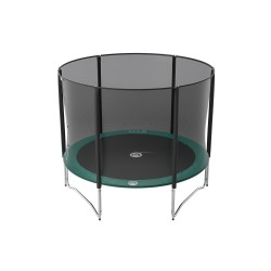 10ft Jump'Up 300 trampoline with safety enclosure