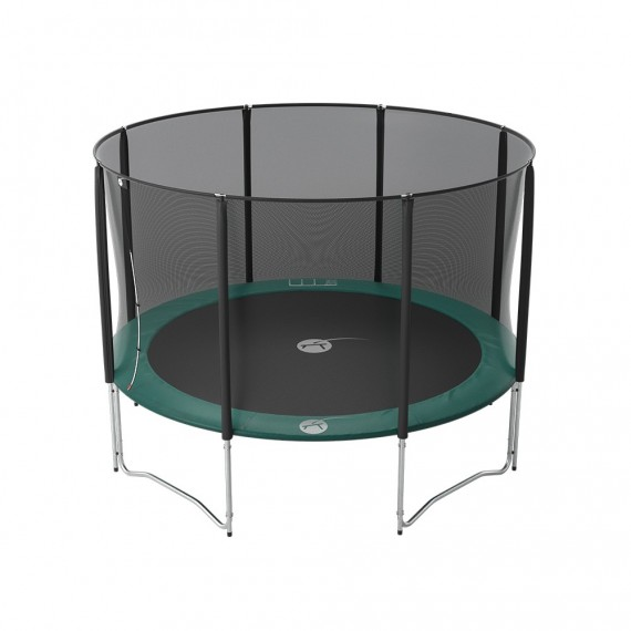 12ft Jump'Up 360 trampoline with safety enclosure