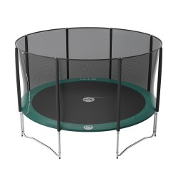 14ft Jump'Up 430 trampoline with safety enclosure