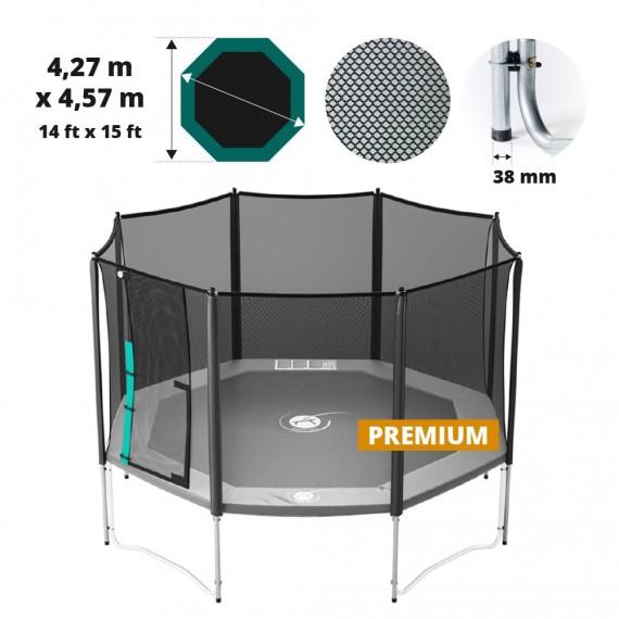 Waouuh 460 Premium trampoline net