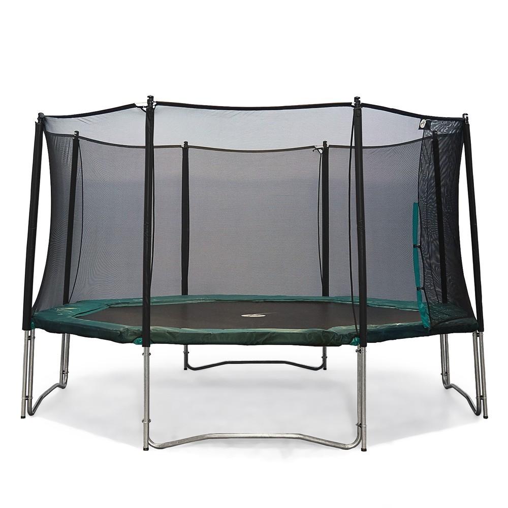 filet de protection pour votre trampoline octogonal waouuh 460. Black Bedroom Furniture Sets. Home Design Ideas