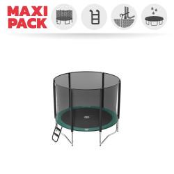 Maxi Pack Jump'Up 250 avec Filet + Échelle + Kit d'ancrage + Housse Premium