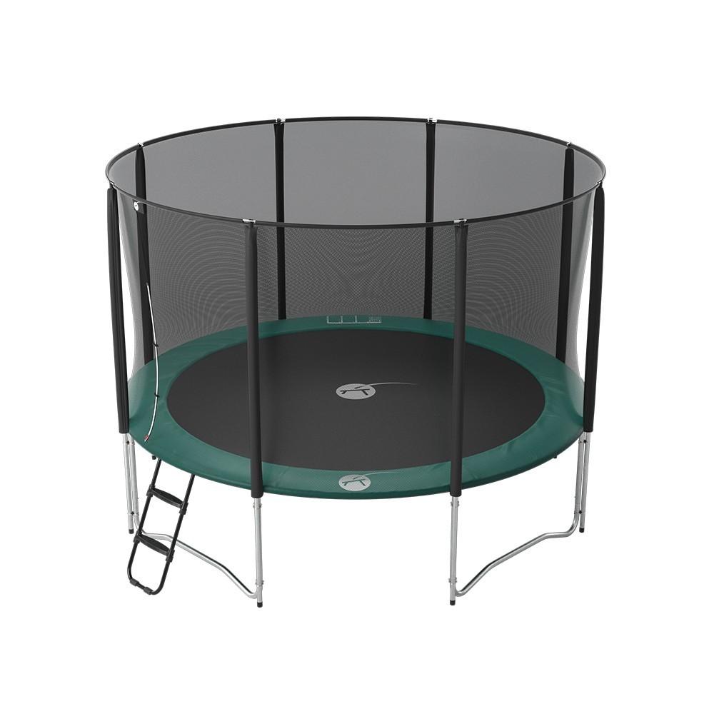 maxi pack 12ft jump 39 up trampoline net ladder anchor kit cover. Black Bedroom Furniture Sets. Home Design Ideas