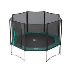 Vue de dessous trampoline Waouuh 390