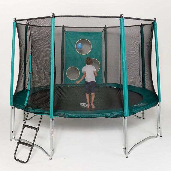 Trampofoot sur un trampoline