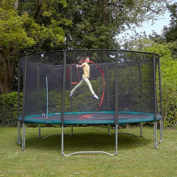 Maxi Pack 15ft Jump'Up Trampoline + Net + Ladder + Anchor