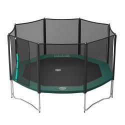 Vue de dessous trampoline Waouuh 460