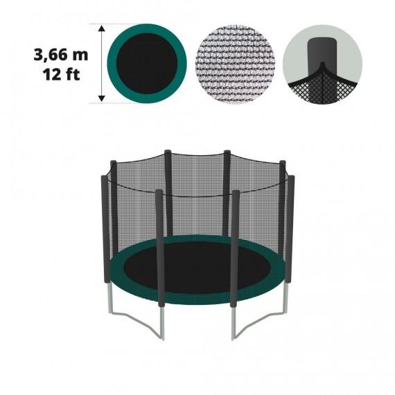 Filet textile Ø 366 avec gaines