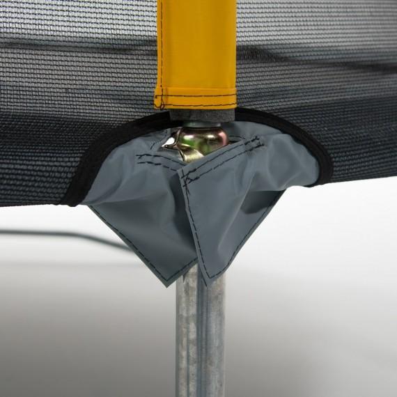 Mini Pack Trampoline Initio 300 avec filet + Échelle + Kit d'ancrage