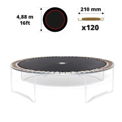 Toile de saut pour trampoline Ø 488 à 120 ressorts 210 mm