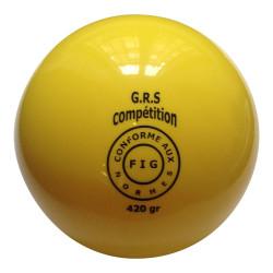 Ballon GR bleu 420 gr, normes FIG