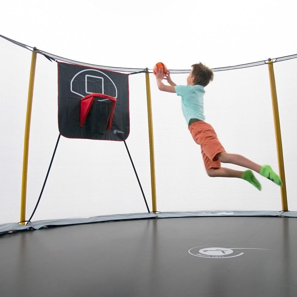 Panier de basket fun pour trampoline - Panier de basket junior ...