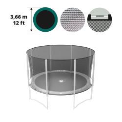 Filet textile medium pour trampoline 360