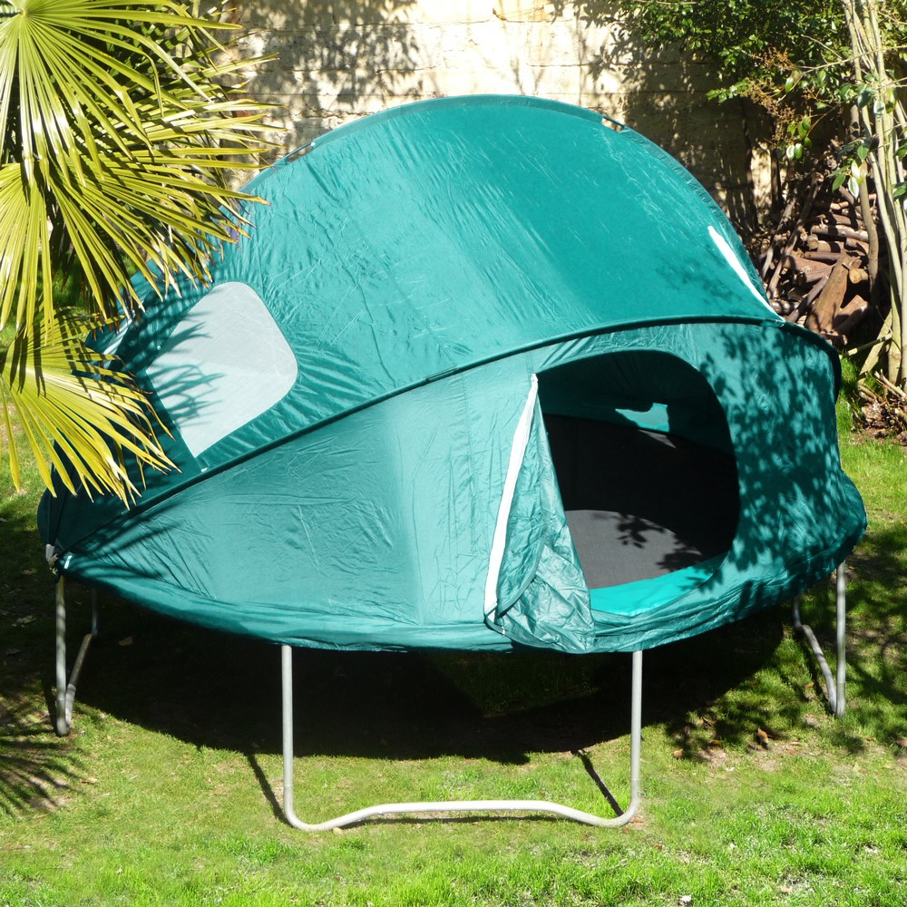 tente igloo pour trampoline 360. Black Bedroom Furniture Sets. Home Design Ideas