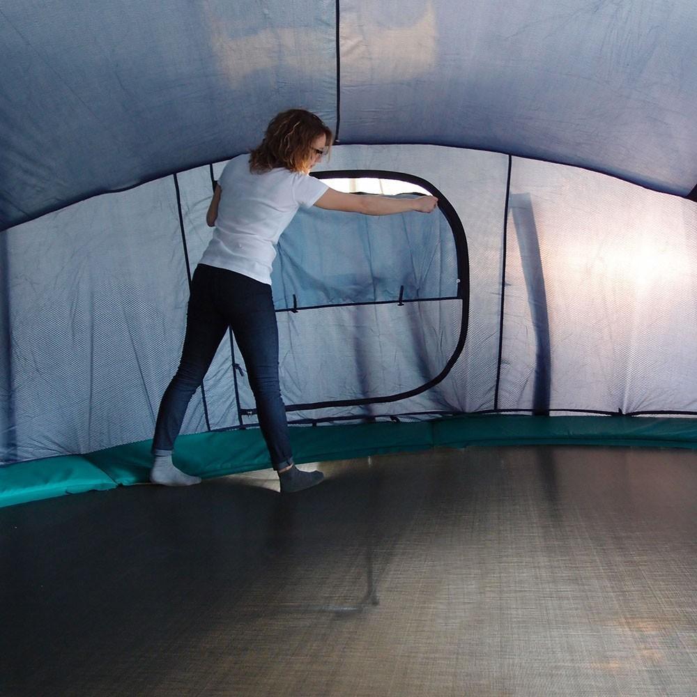 tente igloo pour trampoline 430. Black Bedroom Furniture Sets. Home Design Ideas