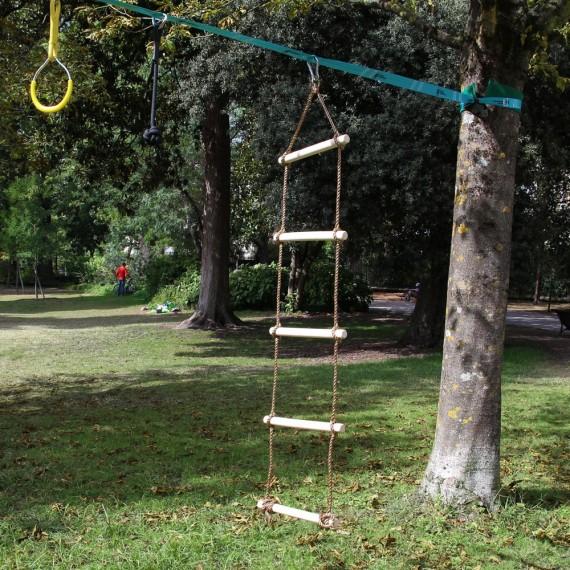 Échelle de corde - Ninja Slackline